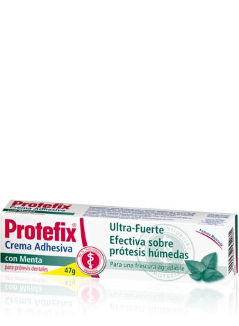 Crema adhesiva Protefix sabor a menta
